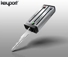 Keyport: six keys in one compact case. Brilliant!