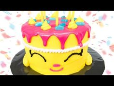 "Shopkins Cake: How to make Shopkins ""Wishes"" Birthday Cake from Cookies Cupcakes and Cardio - YouTube"