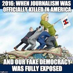 Honest journalism is Dead. #BITTER TRUTH