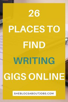 Are you looking for writing jobs from home? I have created a great post with over 20 websites offering writing jobs from home. Click through to see if those writing jobs from home are what you're looking for!