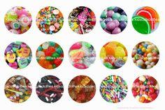 Candy bottle cap digitally enhanced 4 x 6 by BOTTLECAPALICIOUS, $1.25