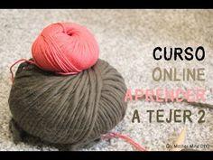 Curso online gratis para aprender a tejer 2: Cómo montar los puntos - YouTube