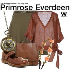 Inspired by Willow Shields as Primrose Everdeen in The Hunger Games film franchise.