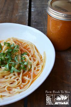 Homemade Tomato Sauce - This tomato sauce has tons of flavor, considering it only has five ingredients. Don't be scared off by the amount of garlic. The garlic mellows out by being cooked and the resulting sauce is amazing. We promise it won't give you dragon garlic breath!
