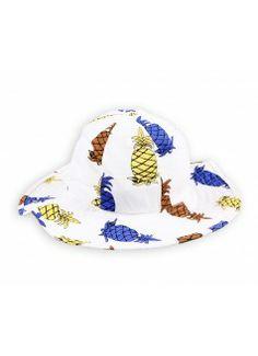 MINI RODINI Pineapple Hat