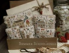 WITH THY NEEDLE & Thread Summer Schoolhouse Series