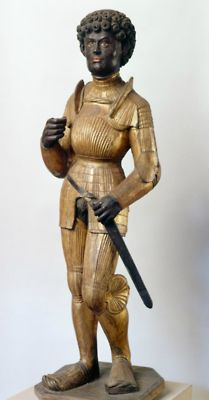 Africans In Europe - Moors - Medieval Art History: Holy Roman Emperor Frederick III, in full armour