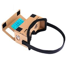 """nice Google Cardboard, SARLAR 3D VR Headset DIY Glasses Virtual Reality BOX II Kit For All 3.0""""-4.7"""" Smartphones with IOS/Android for 3D Movies and Video Games"""