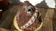 Baby Chewbacca cake