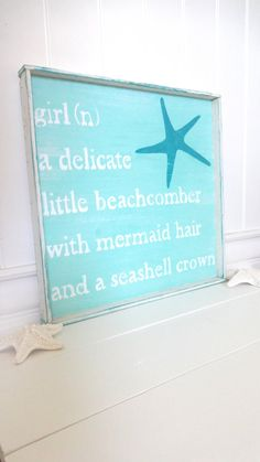Meet Me Bye The Sea Beach Girl Sea Sign by MeetMeByeTheSea on Etsy