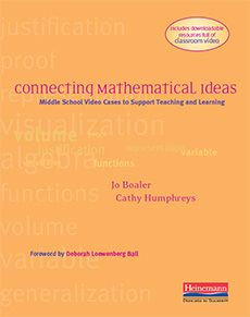 I have had this one on my shelf for a while and put it aside as I have dug into K-2 work. Excited to read this one! Connecting Mathematical Ideas by Jo Boaler, Cathleen Humphreys. Middle School Video Cases to Support Teaching and Learning #MathSummerReads