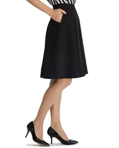 Soft Drape Flirty Skirt - White House | Black Market