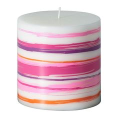 JÄBBIG Unscented block candle - IKEA Unscented are great for burning more than one at a time.