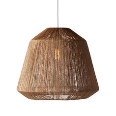 Bring a tropical feel to your casual space with this charming Tiki Pendant Light. Made from carefully twisted jute fibers over an attractively shaped wire frame, this tasteful lamp radiates a soft illu... Find the Tiki Pendant Light, as seen in the Summer of Love Collection at http://dotandbo.com/collections/summer-of-love-1?utm_source=pinterest&utm_medium=organic&db_sku=111740