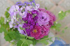 エンドウ豆の花ブーケ  FLORAL PERFUMEのブログ