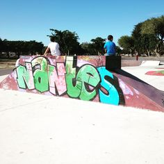 #Nantes #SkatePark #Athlone Without A Doubt, Skate Park, Nantes