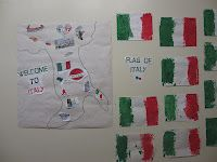 Study of Italy with preschoolers
