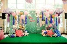 Maia's Under the Sea Themed Party – Stage
