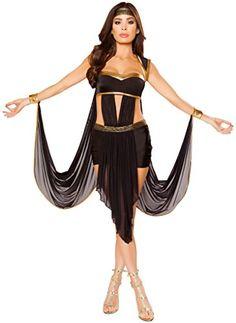 Women's Pharaoh Cleopatra Halloween Costume - Black/Gold ... https://www.amazon.com/dp/B01LW2WJ3E/ref=cm_sw_r_pi_dp_x_K5w5xbX3GA0F2