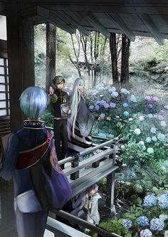 Uguisumaru, Ichigo Hitofuri, Kousetsu Samonji