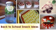 Back to School Snacks Ideas