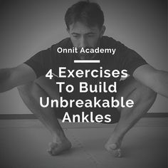 Ankle strength and mobility are often neglected. And thats terrible because thes… Ankle strength and mobility are often neglected. And thats terrible because these small joints carry the entire weight of your body every day. Fitness Motivation, Fitness Tips, Health Fitness, Fitness Goals, Jiu Jitsu, Excercise, Strength Training, At Home Workouts, How To Plan