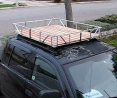 7 Best Wooden Roof Rack Images On Pinterest Car Roof