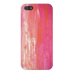 Orange and Pink iPhone Case (This website also has cases for Galaxy III)