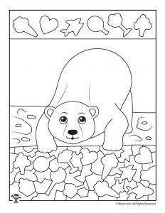 Polar Bear I Spy Printable Worksheet Bears Preschool, Preschool Activities, Kindergarten Worksheets, In Kindergarten, Colouring Pages, Coloring Books, Sudoku, Polar Animals, Wild Animals