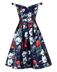 Chi Chi Floral Prom Dress | Simply Be