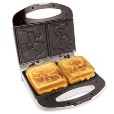 Snoopy & Woodstock Character Grilled Cheese Maker