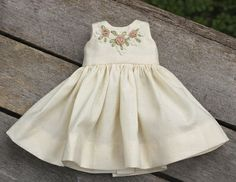 Free pattern: Heirloom doll dress | Needlework News | CraftGossip.com