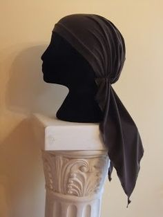 Free chemo hat sewing pattern, a scarf that wears like a hat Snip-Rip-Hooray