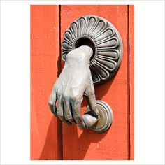 GAP Interiors - Unusual door knocker