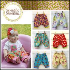 Poofypants for Babies and Toddlers NB-24m | Sewing Patterns | YouCanMakeThis.com