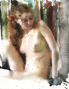 watercolors 2006 martin eder