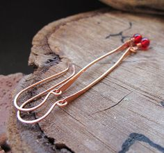 Earring Findings Kit  Ear wires Paddle Bar Red by NadinArtGlass, $14.00