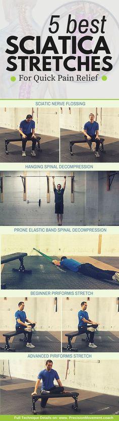 Effective Hip Flexor Stretch: 5 Best Sciatica Stretches for Quick Pain Relief
