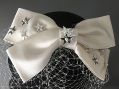 Stars.... coming soon our gorgeous star birdcage veil, bow veil with stars