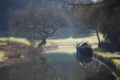 A wreck of a boat! A picture of: Kinver, Staffordshire