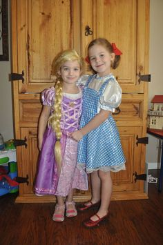 "Vote for your favorite ""Disney Costumed Kids"" photo! Here is entry #11. Rapunzel Meets Dorothy"