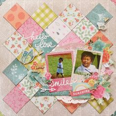 smile by Miyuki Kawakami ⊱✿-✿⊰ Follow the Scrapbook Pages board visit GrannyEnchanted.Com for thousands of digital scrapbook freebies. ⊱✿-✿⊰