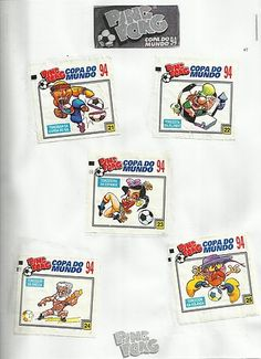 06- Álbum Ping Pong Copa do Mundo Estados Unidos 94