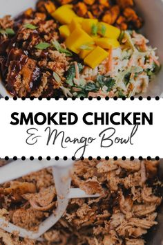 Shredded Bbq Chicken, Smoked Chicken, Weeknight Dinners, Lunches And Dinners, Ripped Recipes, Romantic Dinner For Two, Cooking White Rice, Chicken Meal Prep, Roasted Sweet Potatoes
