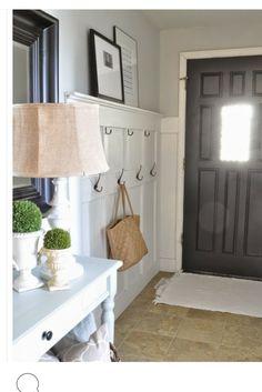 pretty hooks behind door