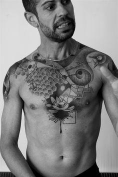 L'art du point tatouage