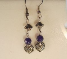Necklace and earring set by OceanArtisan on Etsy