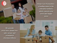 Ocean Care Forwarders, a leading name in the #relocation industry which converts your move into happy #move. We provide stress free, hassle free, safe, secure and economical doorstep delivery.