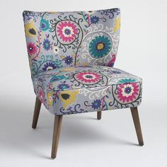 One of my favorite discoveries at WorldMarket.com: Swirl Delani Upholstered Accent Chair