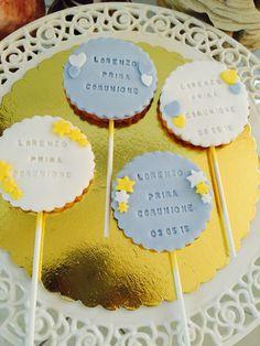 Biscotti decorati in pdz per prima comunione